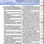 [청색] 개역개정 ESV 한영해설성경 & 21C 한영새찬송가 – 특소 (特小) 합본 색인 – 지퍼