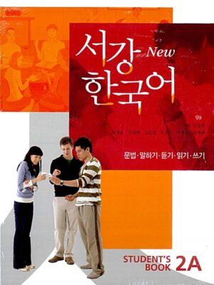New 서강 한국어 Student's Book 2A (교재 + 별책 + CD 1장) – 문법.말하기.듣기.읽기.쓰기