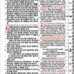 [네이비] 개역개정 NIV 한영해설성경 & 21C 한영찬송가 – 미니 합본 색인 – 지퍼