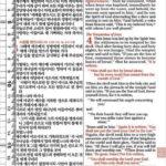 [자주] 개역개정 ESV 한영해설성경 – 특중(特中) 단본 색인 – 무지퍼
